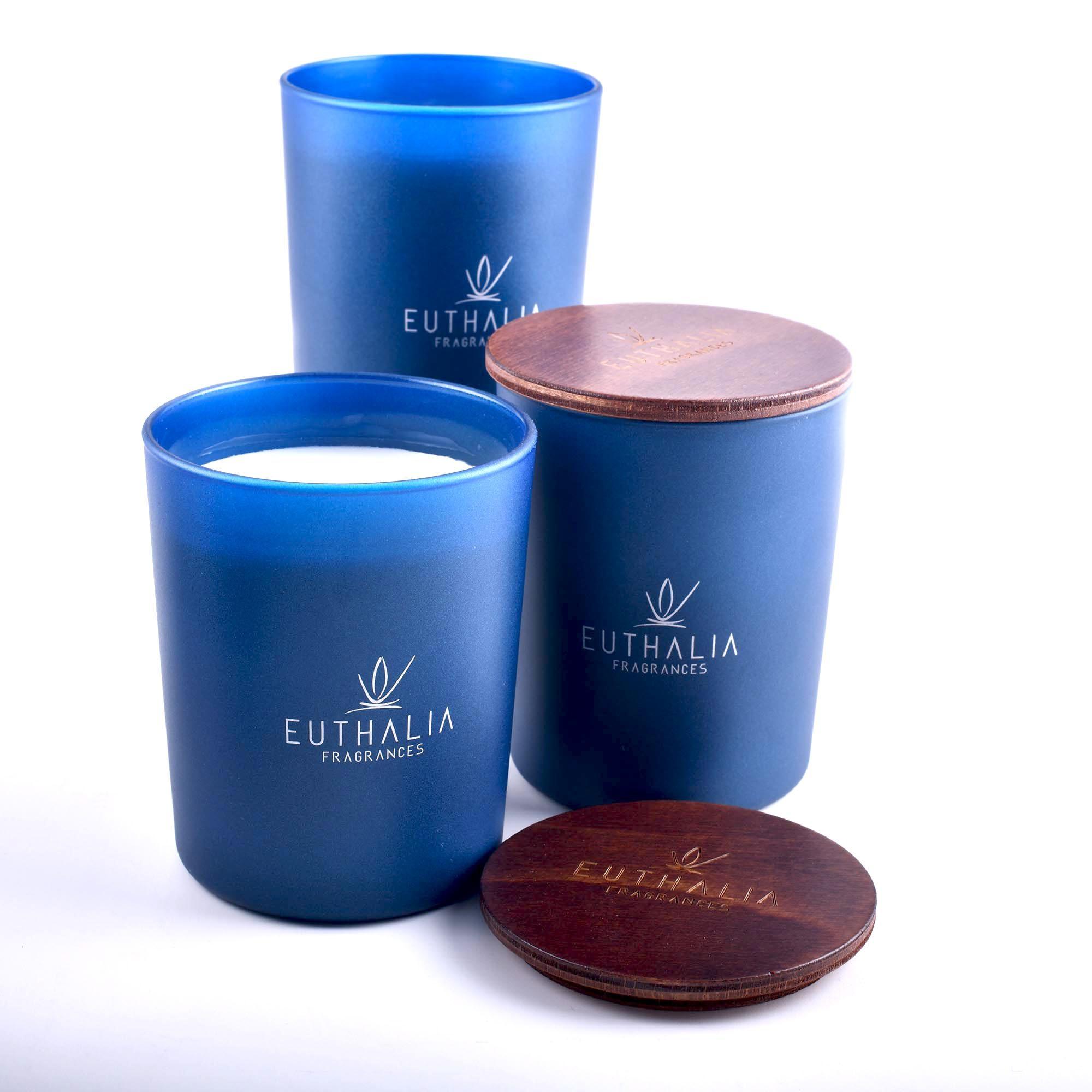 La collezione di candele profumate di Euthalia Fragrances